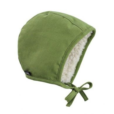 Elodie Details - Czapka Winter Bonnet - Popping Green - 6-12 m-cy