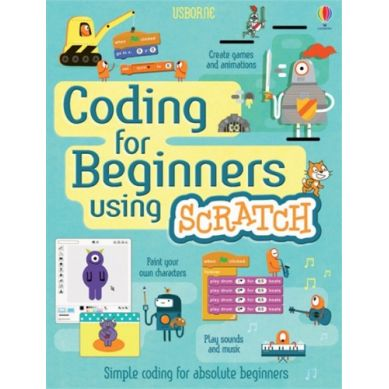 Wydawnictwo Usborne Publishing - Coding for begginers Scratch