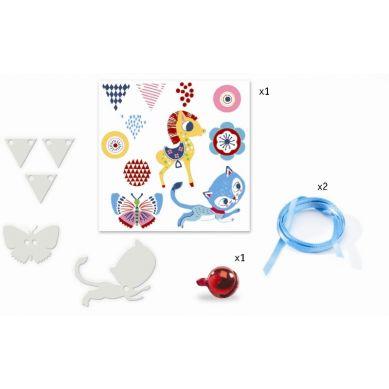 Djeco - Zestaw Kreatywny Magiczna Biżuteria Kotek i Kucyk