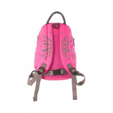 LittleLife - Duży Plecak Odblaskowy ActiveGrip Motylek