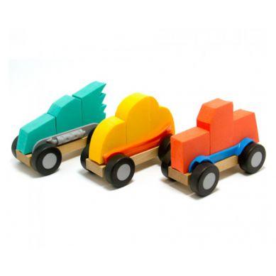 Fat Brain Toys - ModMobiles Składane Samochodziki