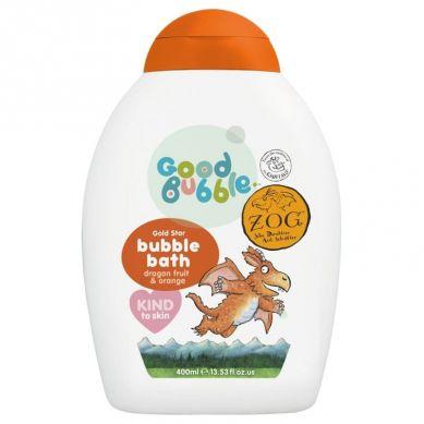 Good Bubble - Organiczny Płyn do Kąpieli Noworodka i Niemowlaka Dragon Fruit / Pitaya & Orange 400 ml
