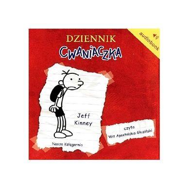 Wydawnictwo Nasz Księgarnia - Audiobook Dziennik cwaniaczka