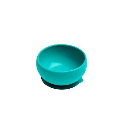 Minikoioi - Miseczka Silikonowa z Pokrywką Zielona
