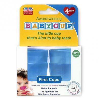 Babycup - Pierwszy Kubeczek dla Niemowląt od 4 m-ca 4 Pack Blue