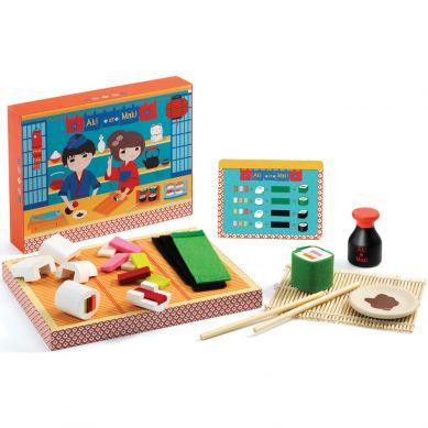 Djeco - Drewniany Zestaw Bar Sushi