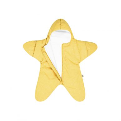 Baby Bites - Kombinezon Zimowy Star 3-6m Yellow