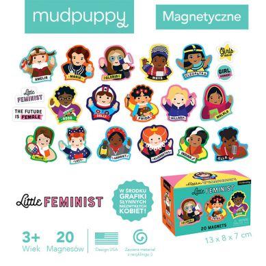 Mudpuppy - Tekturowe Magnesy Niezwykłe Kobiety 20 elementów