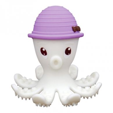 Mombella - Gryzak Zabawka Ośmiornica Lilac