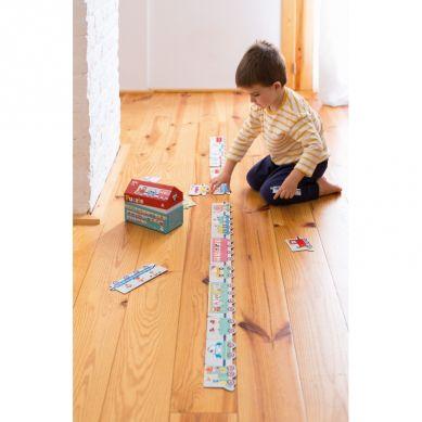 Apli Kids - Puzzle w Kartonowym Domku Pociąg 3+