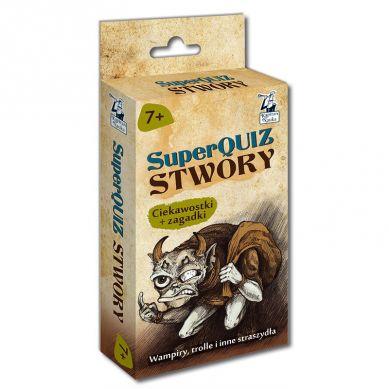 Kapitan Nauka - SuperQuiz Stwory 7+