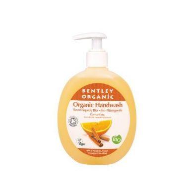 Bentley Organic - ODŻYWIAJĄCE Mydło w Płynie z Cynamonem, Słodką Pomarańczą i Goździkami 250ml