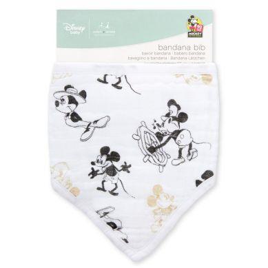 aden + anais - Śliniak Muślinowy Bandana Disney Mickey's 90th