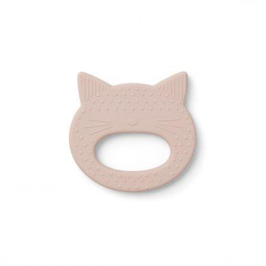 Liewood - Gryzak Silikonowy Cat Rose