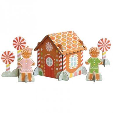 Petit Collage - Puzzle Przestrzenne Domek