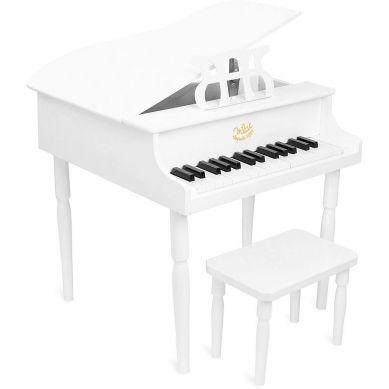 Vilac - Fortepian ze Stołeczkiem dla Dzieci Biały