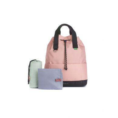 Babymel - Eco Plecak dla Mamy Tap N Tail Rose