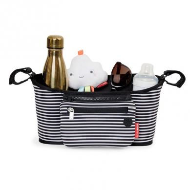 Skip Hop - Organizer do Wózka Black/White Stripe