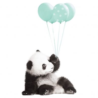 Dekornik - Naklejka Ścienna Słodka Panda 2 50x85