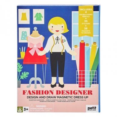 Petit Collage - Magnetyczne Ubieranki Fashion 3+