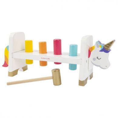 Sunnylife - Przybijanka Drewniana Unicorn
