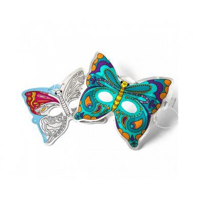 Ooly - Kolorowanka 3D Maski Motyle