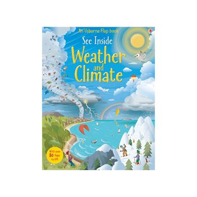 Wydawnictwo Usborne Publishing - See Inside Weather And Climate