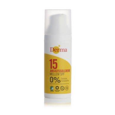 Derma Sun - Krem Słoneczny do Twarzy SPF 15, 50 ml