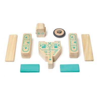 Tegu - Drewniane Klocki Magnetyczne Future Line Magbot