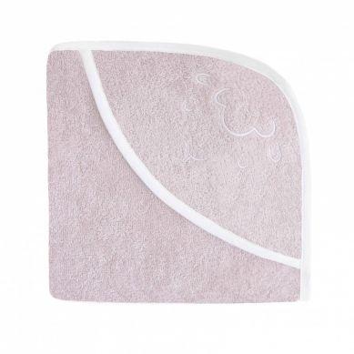 Effii - Ręcznik z Kapturkiem Owieczka Różowy 70 x 70 cm