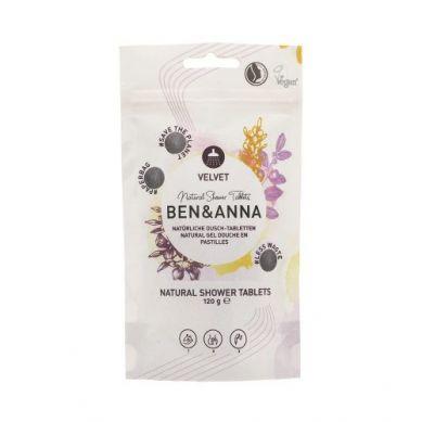 Ben and Anna - Naturalne Tabletki do Mycia Ciała Velvet 120 g