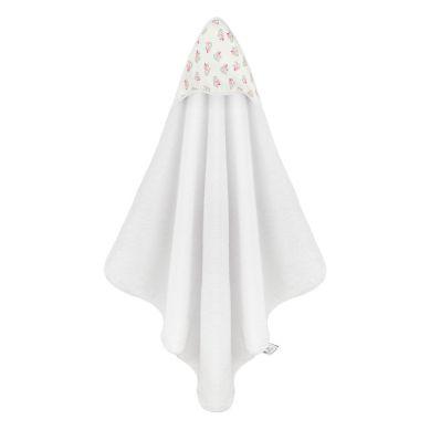 Maki Mon Ami - Ręcznik Kąpielowy z Kapturkiem Sowa Pola