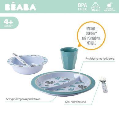 Beaba - Komplet Naczyń z Melaminy Jungle