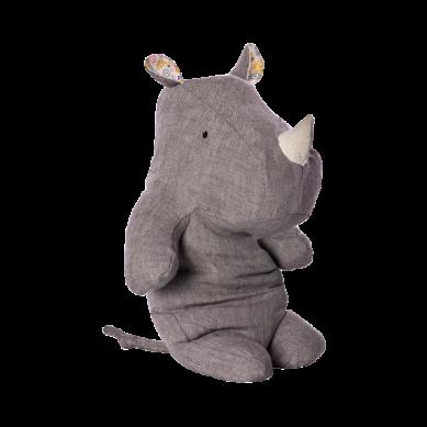Maileg - Przytulanka Safari Friends Large Nosorożec Grey