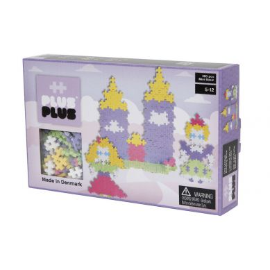 Plus Plus - Klocki Mini Pastel 360 Zamek