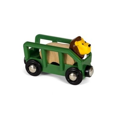 BRIO - World Wagon z Lwem Safari