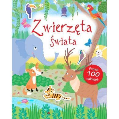 Wydawnictwo Smart Books - Zwierzęta Świata Poznaję Świat + Naklejki