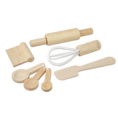 Plan Toys Drewniane Przybory Do Pieczenia