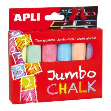 Apli Kids - Kredy Jumbo 6 sztuk