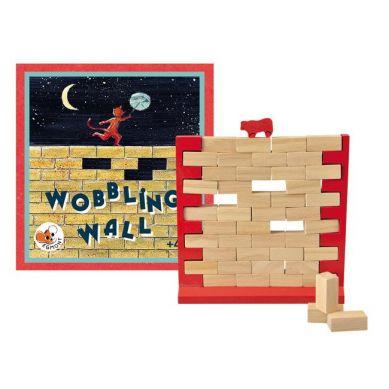 Egmont Toys - Drewniana Gra Zręcznościowa Chwiejny Mur 4+