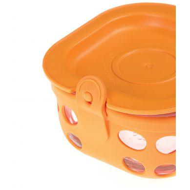 Lifefactory - Pojemnik na żywność 240ml Orange