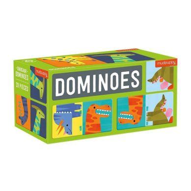 Mudpuppy - Gra Domino Dinozaury 28 elementów 3-8 lat