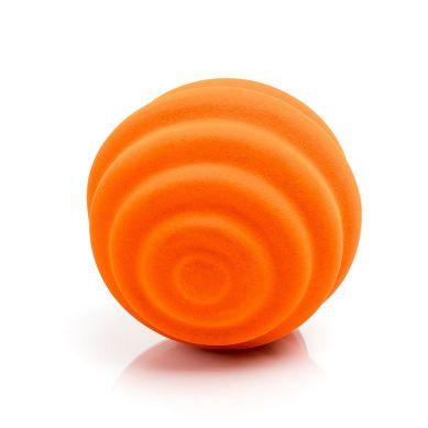 Rubbabu - Piłka Sensoryczna z Delikatną Fakturą Fale Pomarańczowa