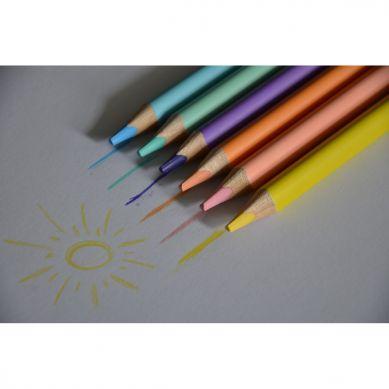 Apli Kids - Kredki Ołówkowe Jumbo Pastel