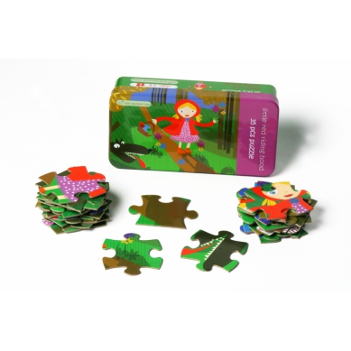 The Purple Cow Puzzle Czerwony Kapturek