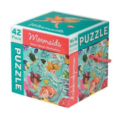 Mudpuppy Puzzle w Pudełku 42 Elementy Syreny