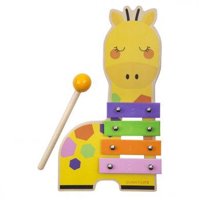 Sunnylife - Drewniany Ksylofon Giraffe