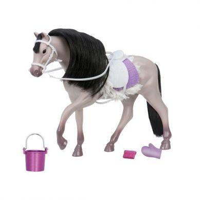 Lori - Szary Koń Rasy Andalusian z Akcesoriami do Pielęgnacji