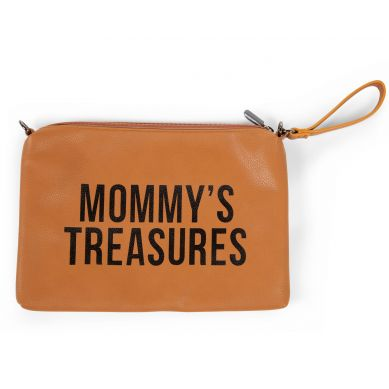Childhome - Torebka Mommy's Treasures Leopard Brązowa