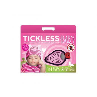 Tickless - Odstraszacz Kleszczy Baby Różowy